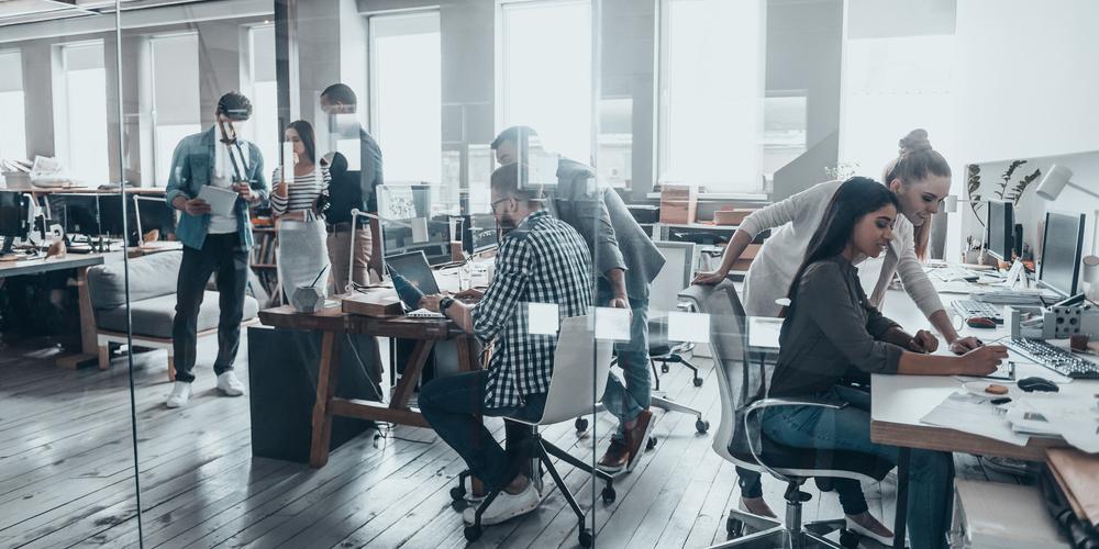 Εργαζόμενοι σε γραφείο