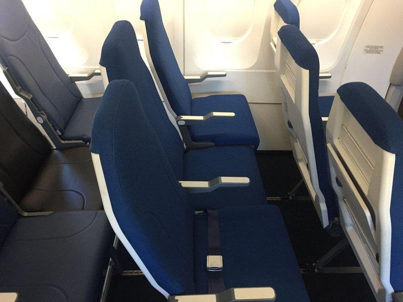 Μεσαία θέση αεροπλάνου