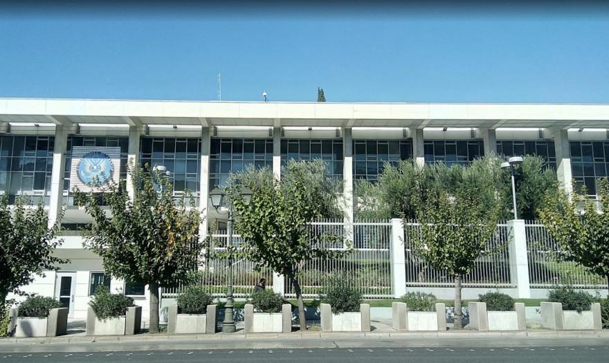 Ανακαίνιση-μαμούθ στην Αμερικανική Πρεσβεία