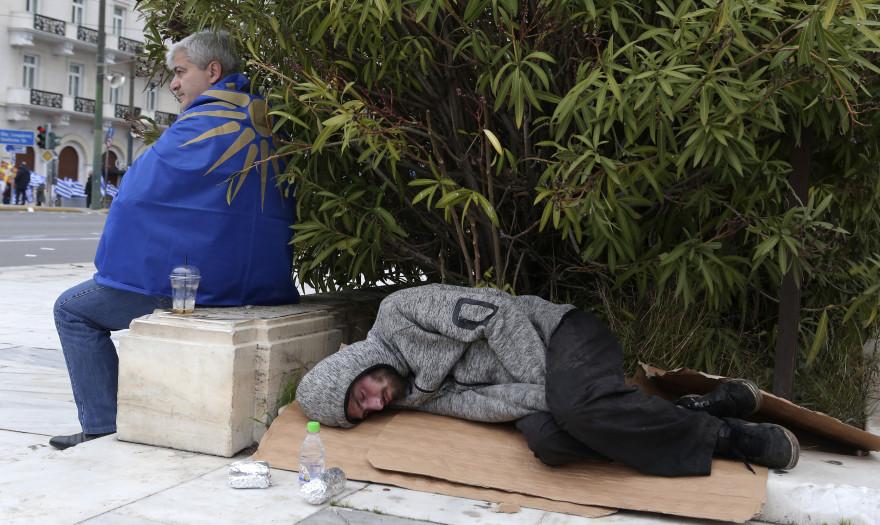 Οι άστεγοι της Μαδρίτης διεκδικούν τα δικαιώματα τους | Economistas.gr