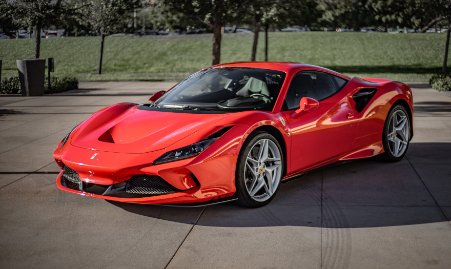 The new Ferrari F8 Tributo is a sporty car that represents the highest expression of the classic two-seater berlinetta. It is a car with unique featur